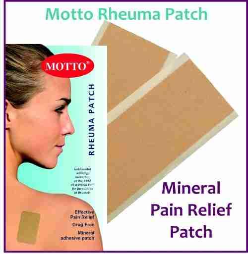 Receive a FREE Sample of Motto Rheuma Patch